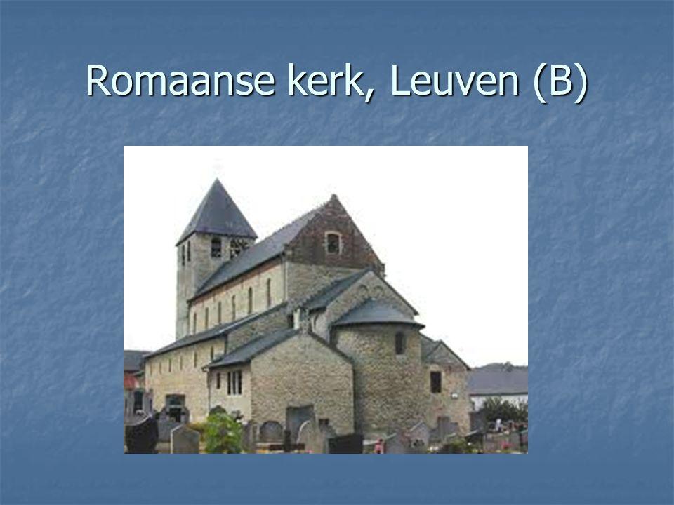Romaanse kerk, Leuven (B)