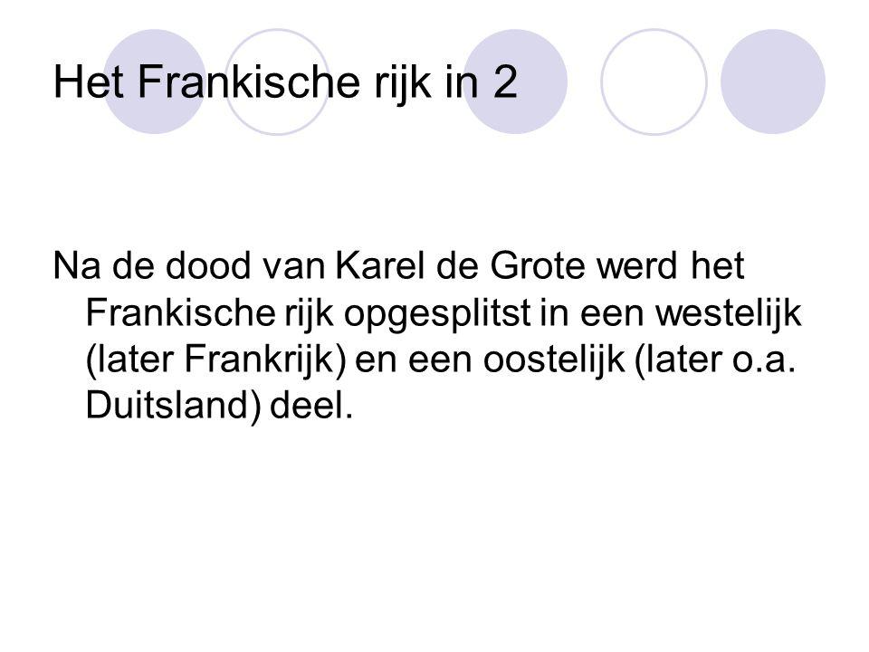 Het Frankische rijk in 2