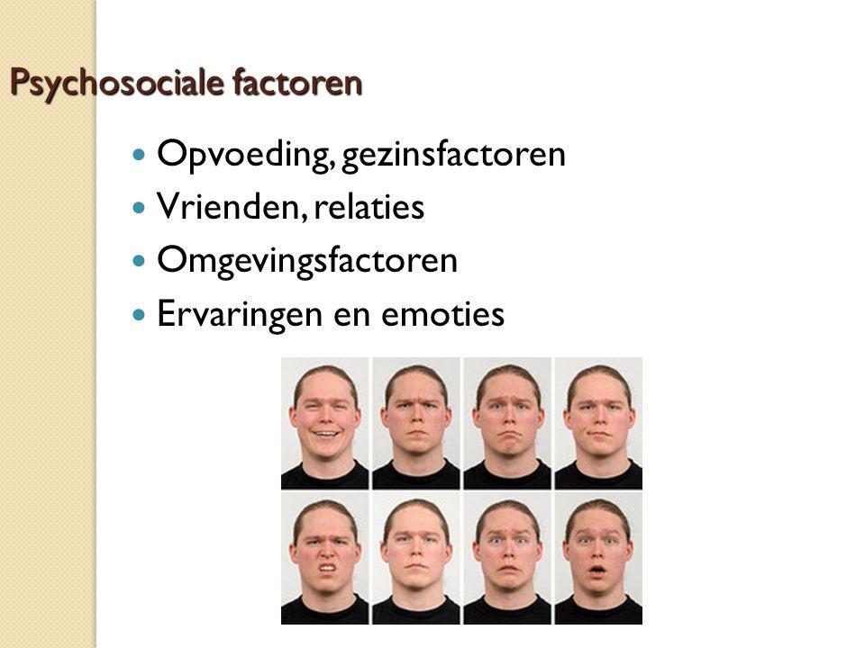 Psychosociale factoren