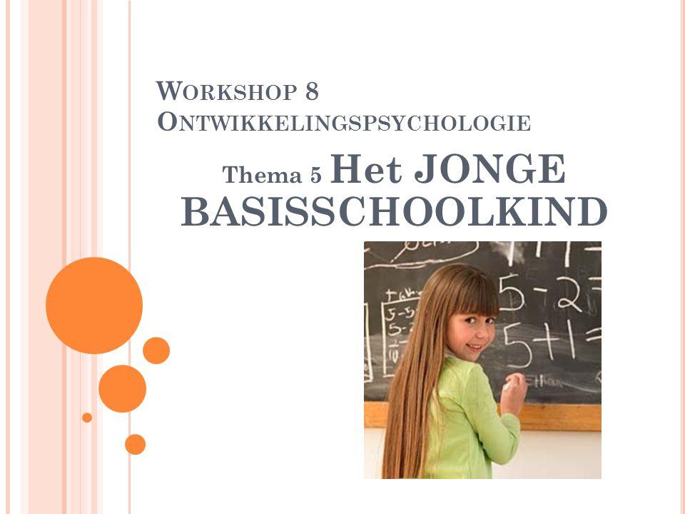 Workshop 8 Ontwikkelingspsychologie