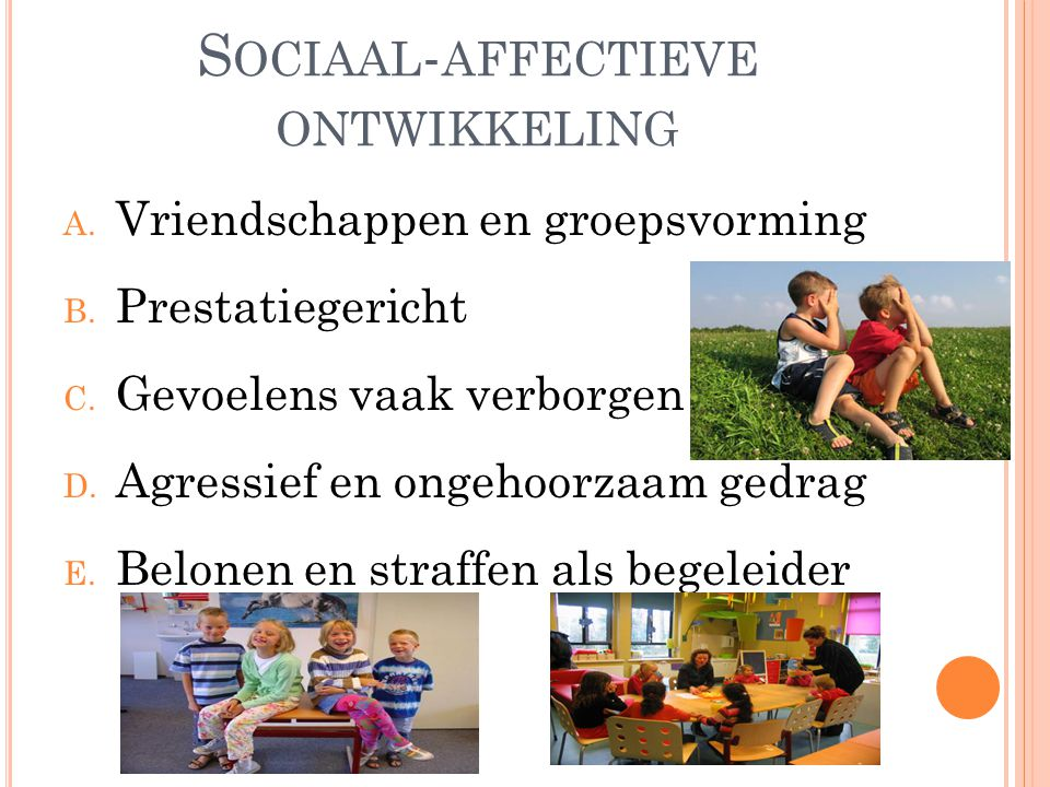Sociaal-affectieve ontwikkeling