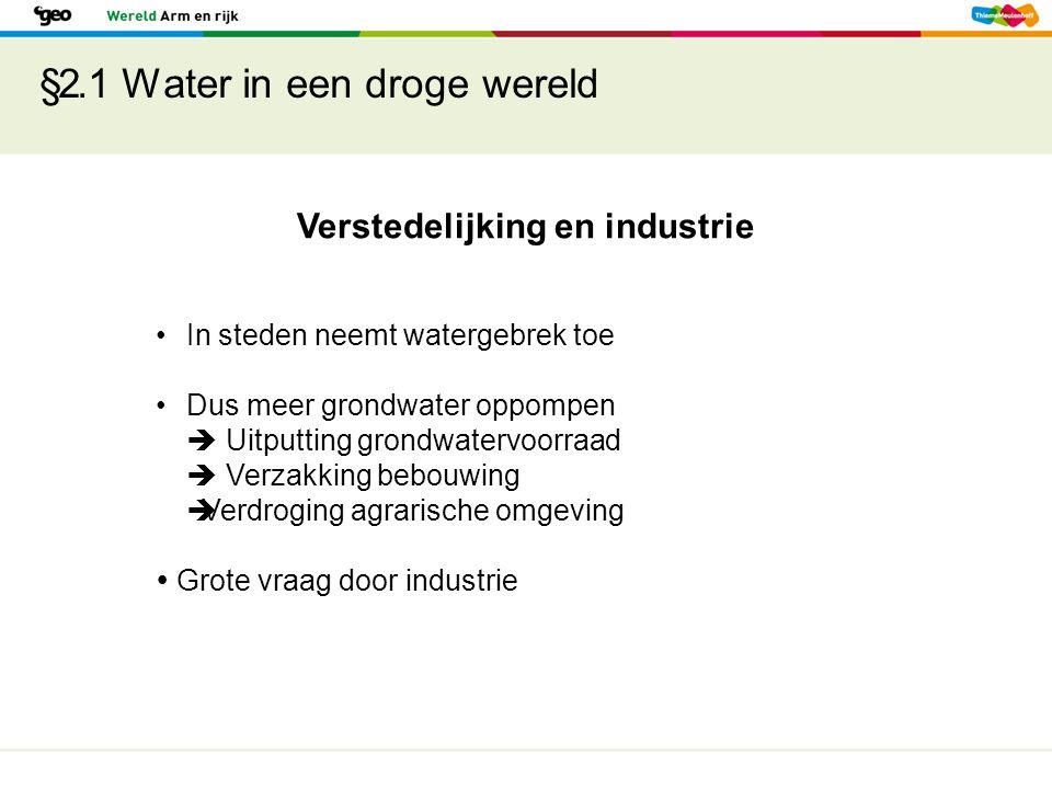§2.1 Water in een droge wereld