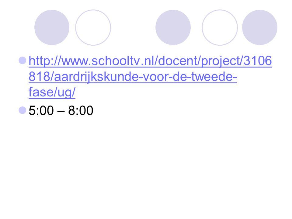 http://www.schooltv.nl/docent/project/3106818/aardrijkskunde-voor-de-tweede-fase/ug/ 5:00 – 8:00