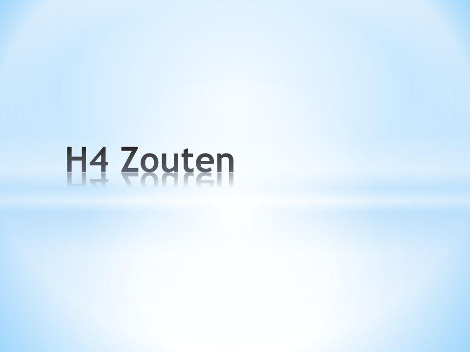 H4 Zouten