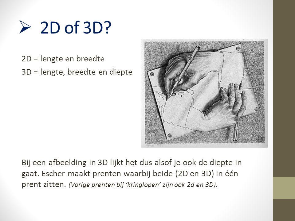 2D of 3D
