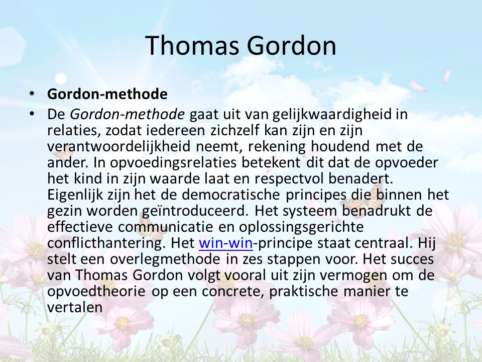 Thomas Gordon Gordon-methode