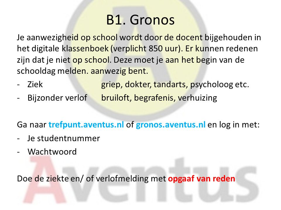 B1. Gronos