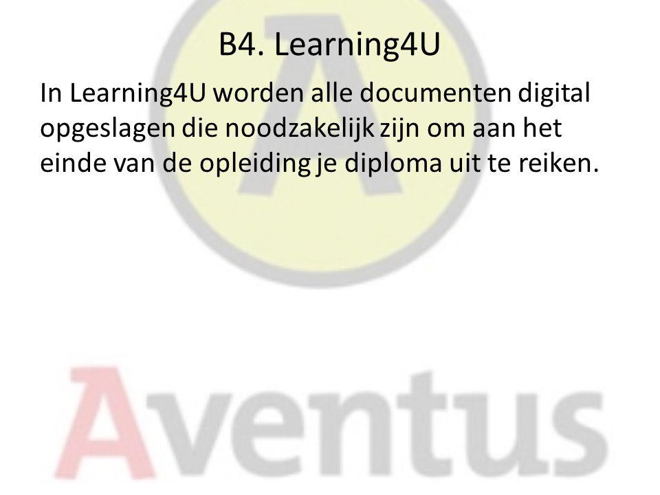 B4. Learning4U