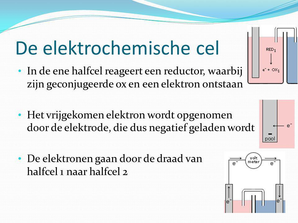 De elektrochemische cel
