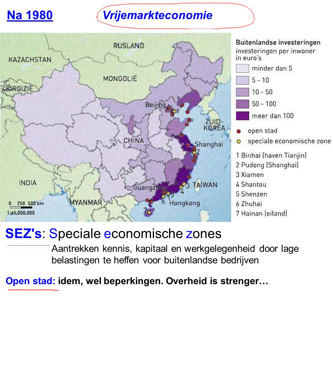 SEZ s: Speciale economische zones