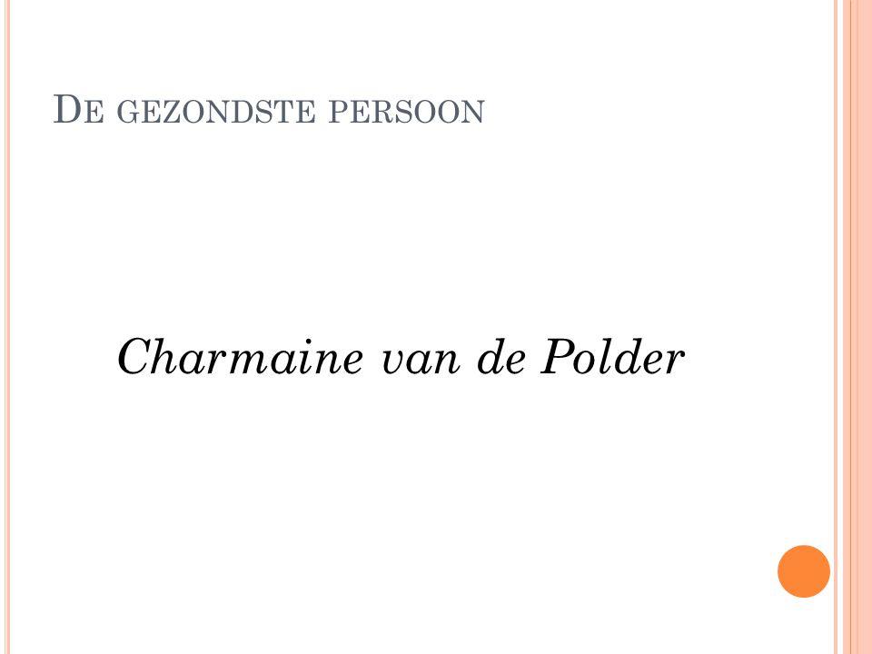 Charmaine van de Polder