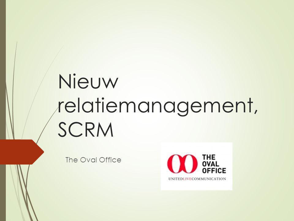 Nieuw relatiemanagement, SCRM