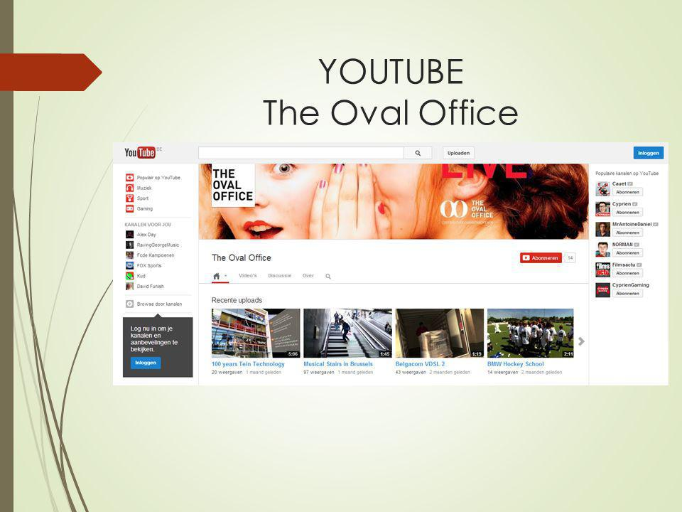 YOUTUBE The Oval Office
