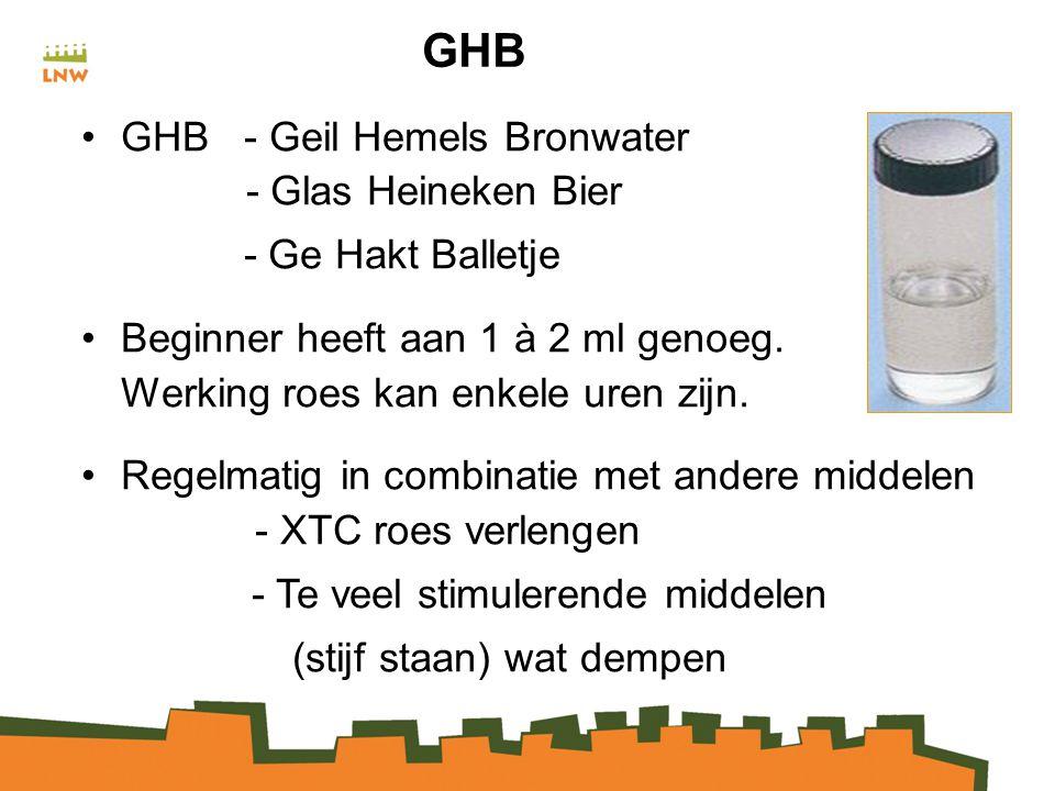 GHB GHB - Geil Hemels Bronwater - Glas Heineken Bier