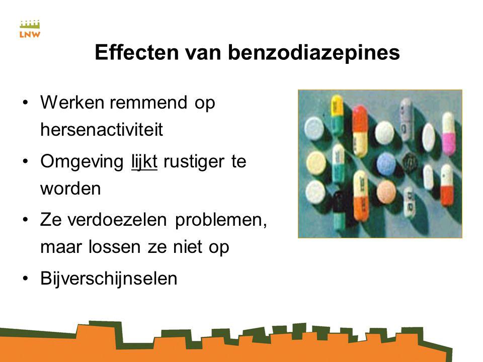 Effecten van benzodiazepines