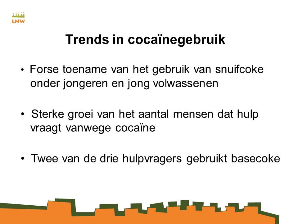Trends in cocaïnegebruik