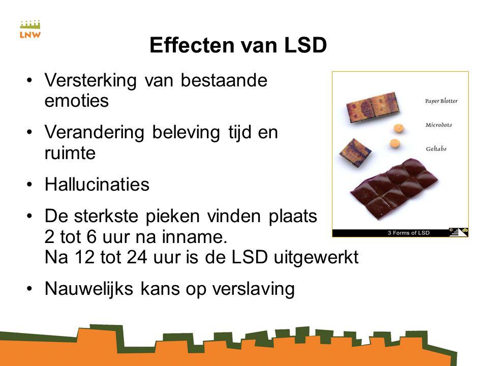 Effecten van LSD Versterking van bestaande emoties