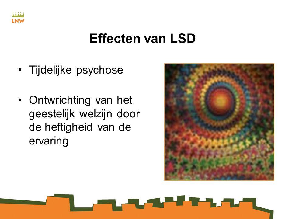 Effecten van LSD Tijdelijke psychose