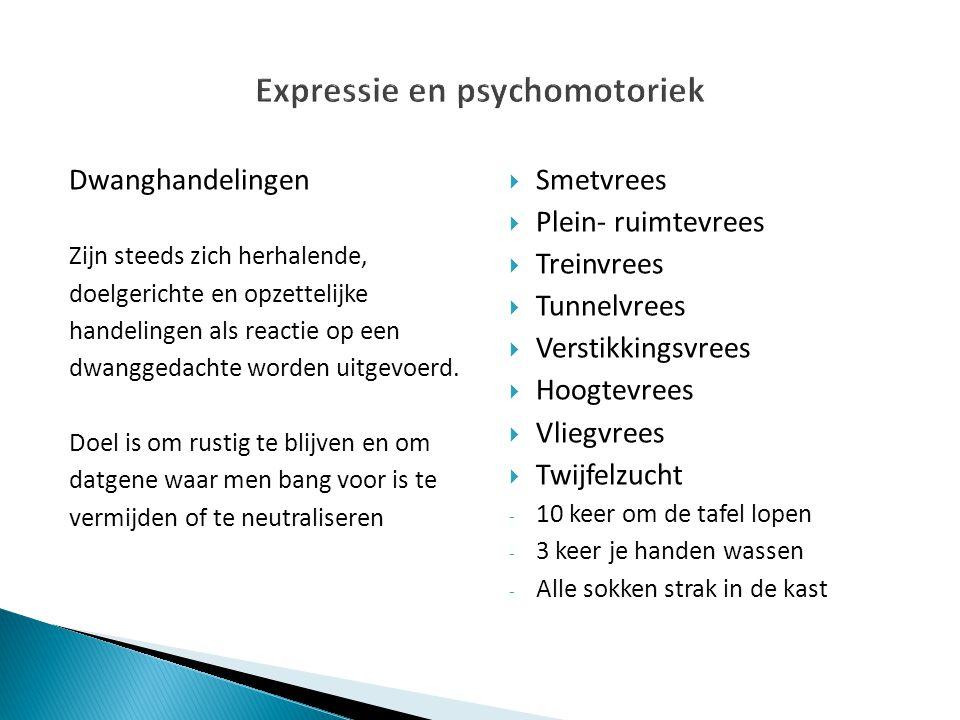 Expressie en psychomotoriek