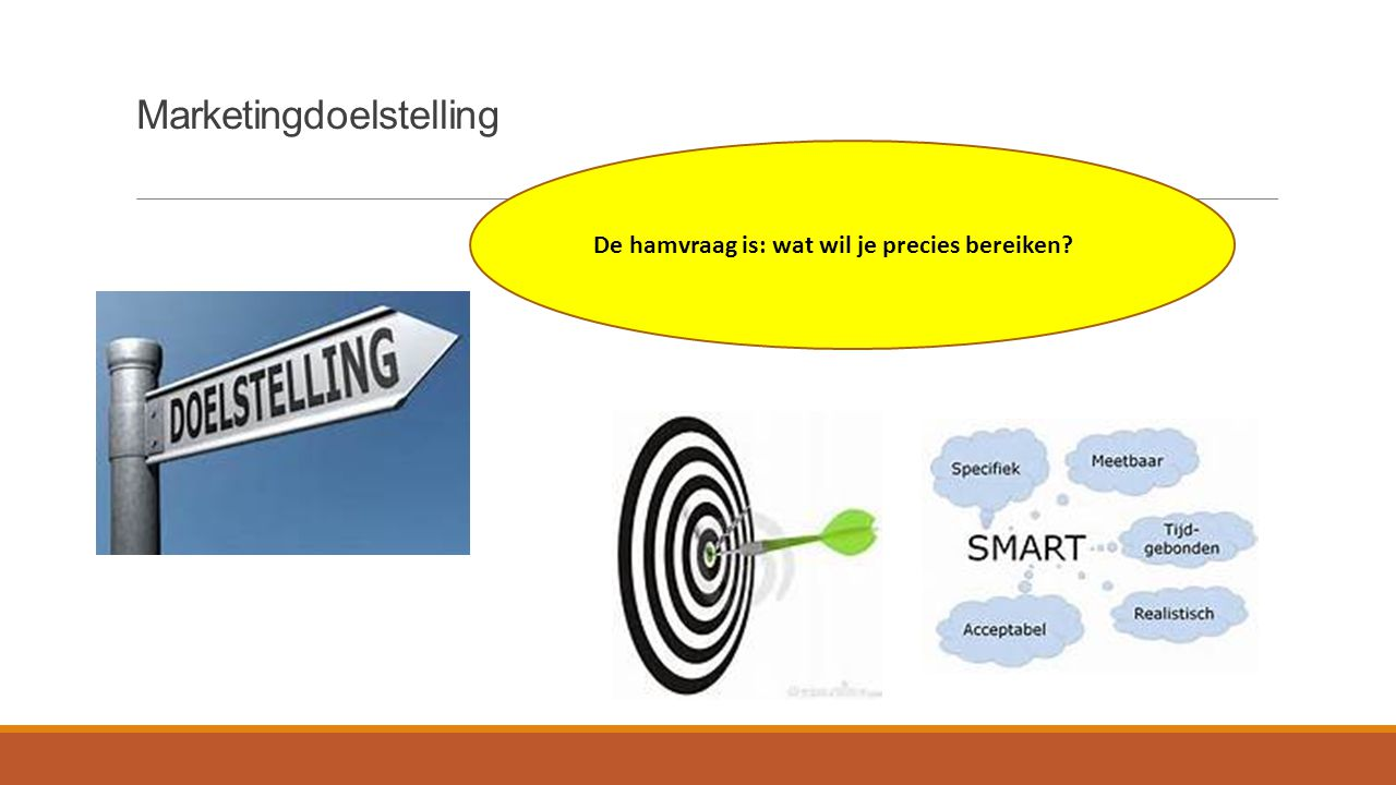Marketingdoelstelling