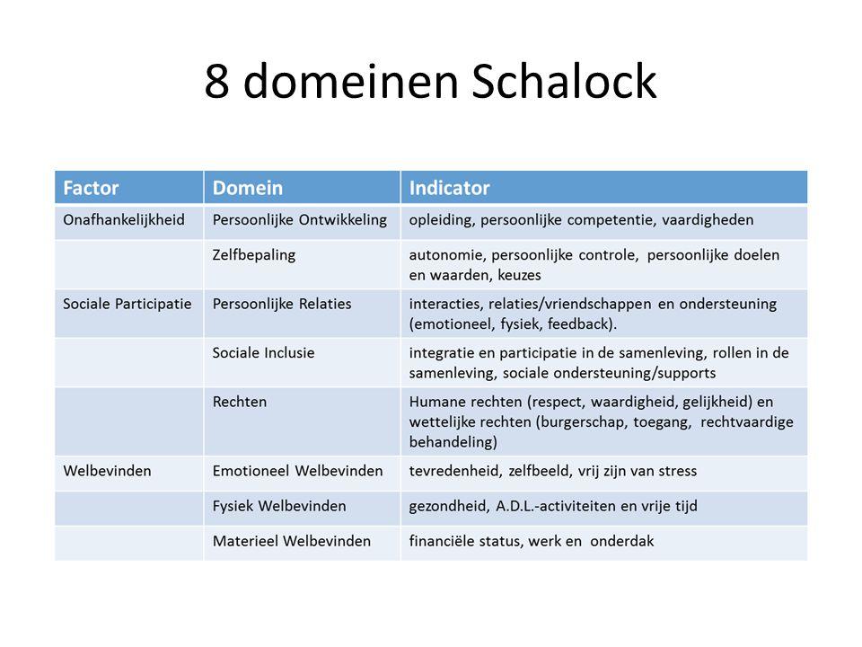 8 domeinen Schalock