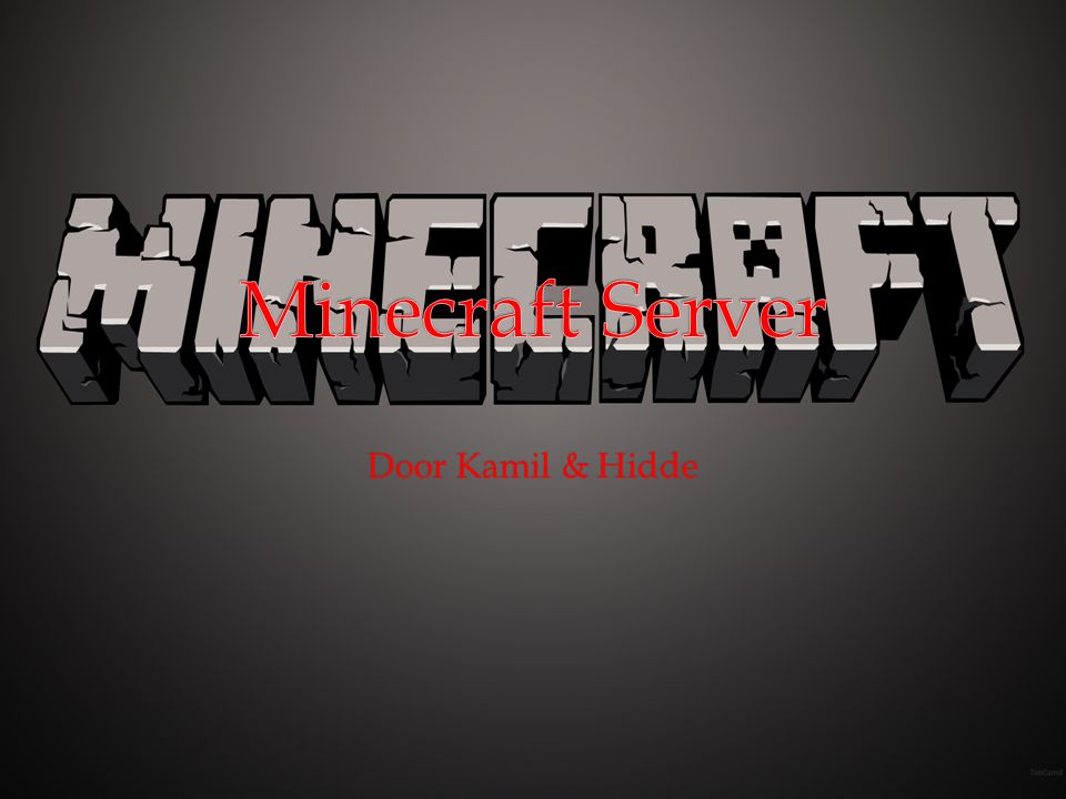 Minecraft Server Door Kamil & Hidde