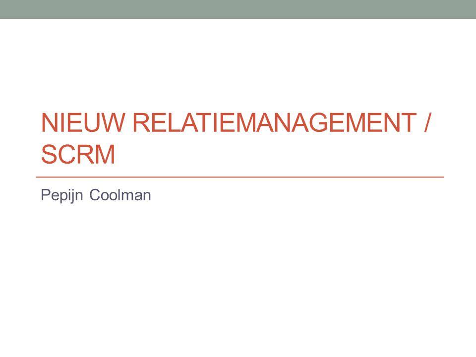 Nieuw relatiemanagement / scrm