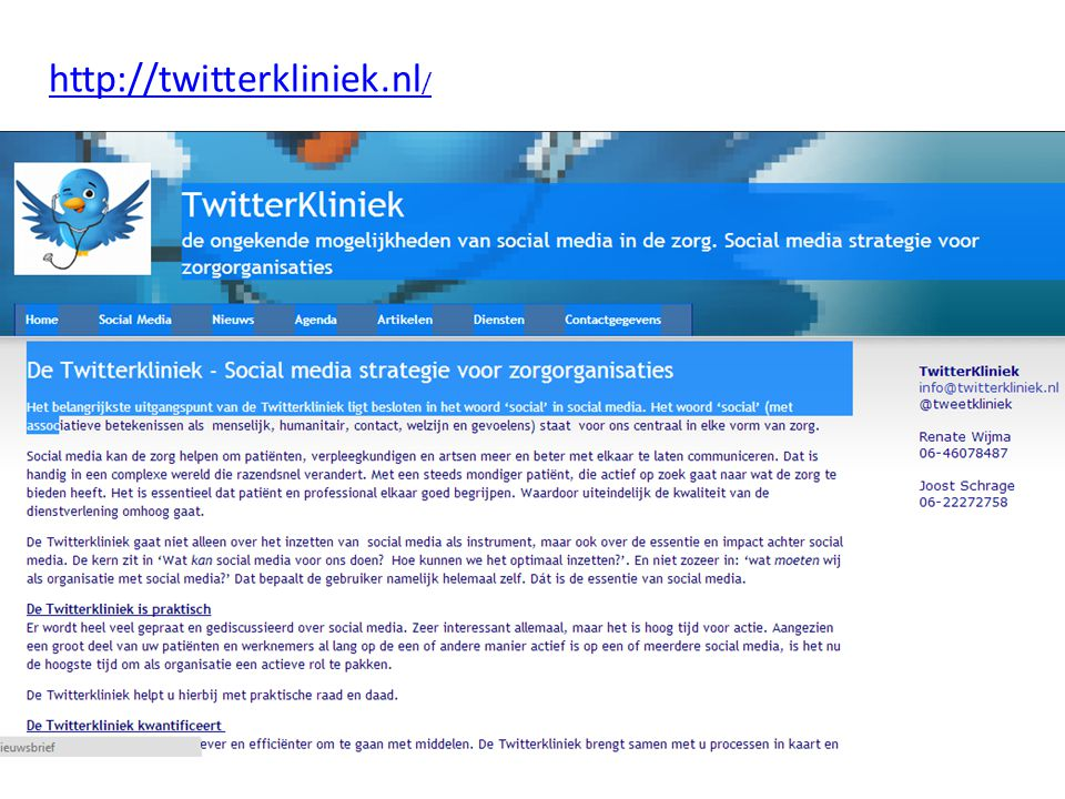 http://twitterkliniek.nl/