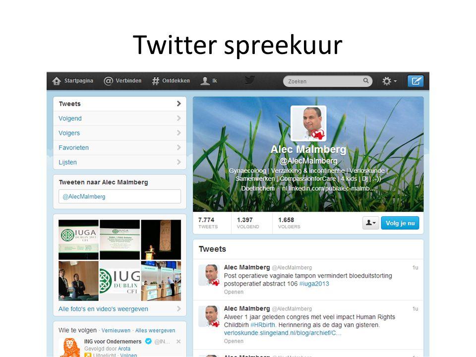 Twitter spreekuur