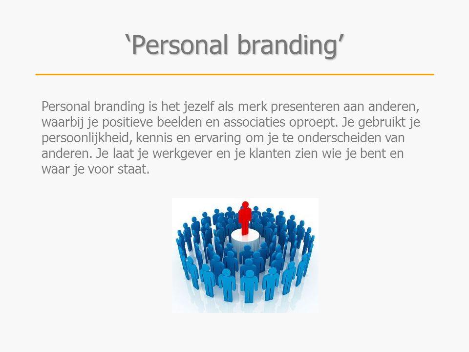 'Personal branding'
