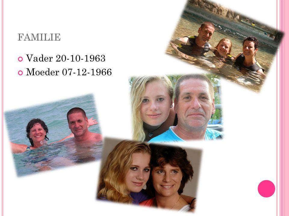 familie Vader 20-10-1963 Moeder 07-12-1966