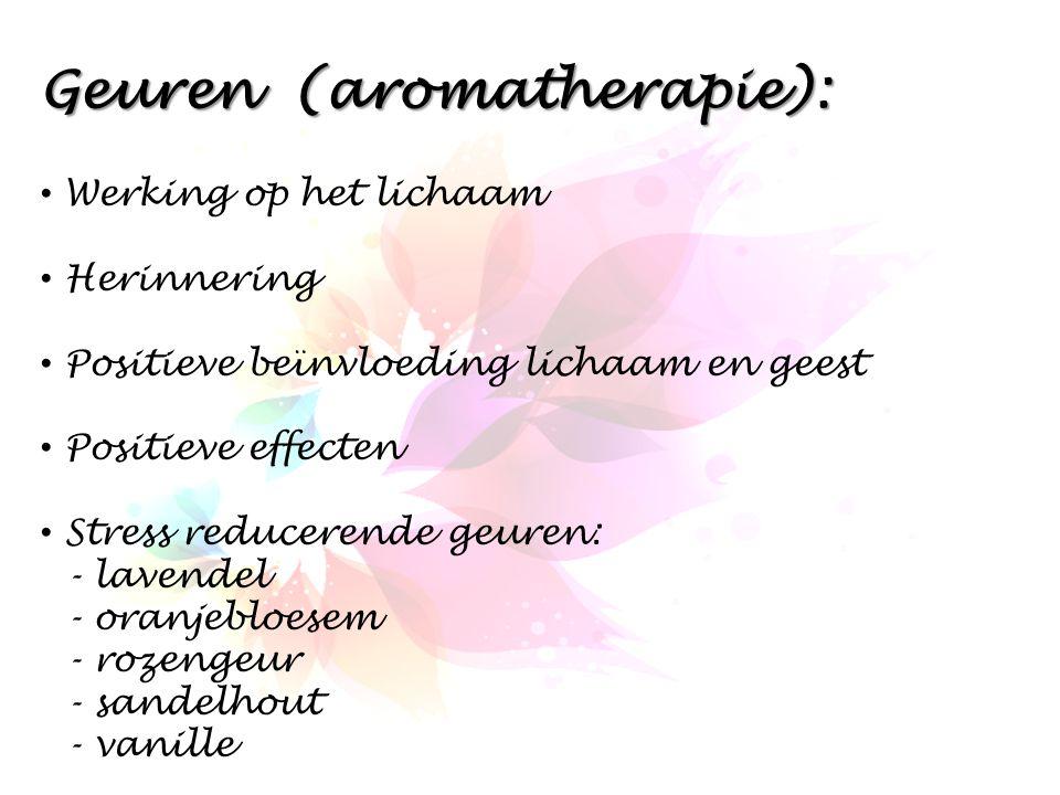 Geuren (aromatherapie):