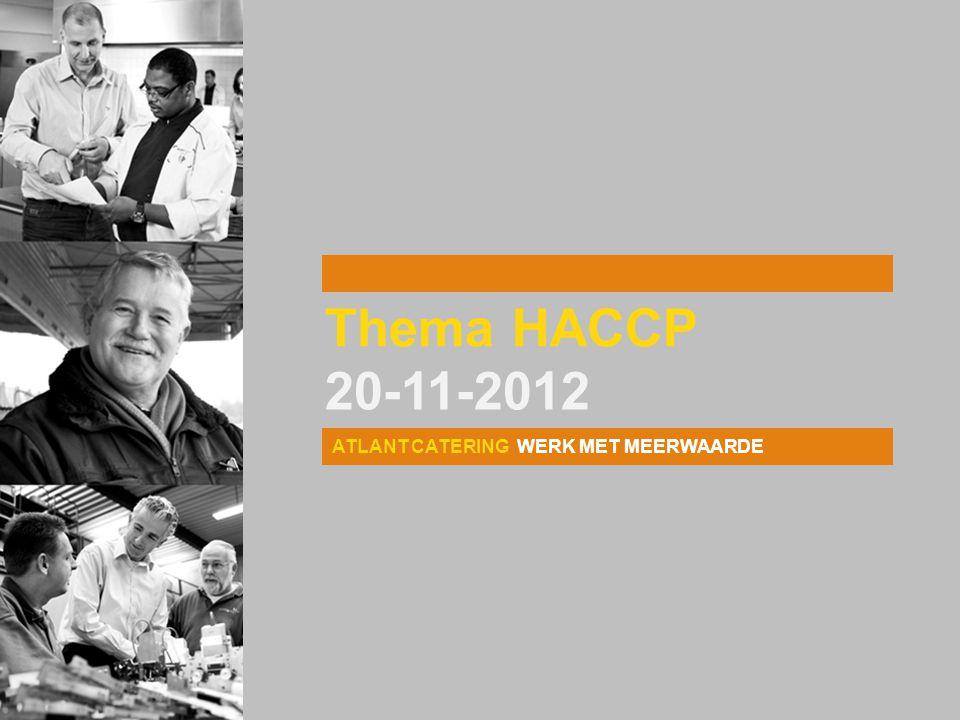 Thema HACCP 20-11-2012