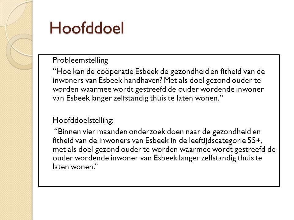 Hoofddoel