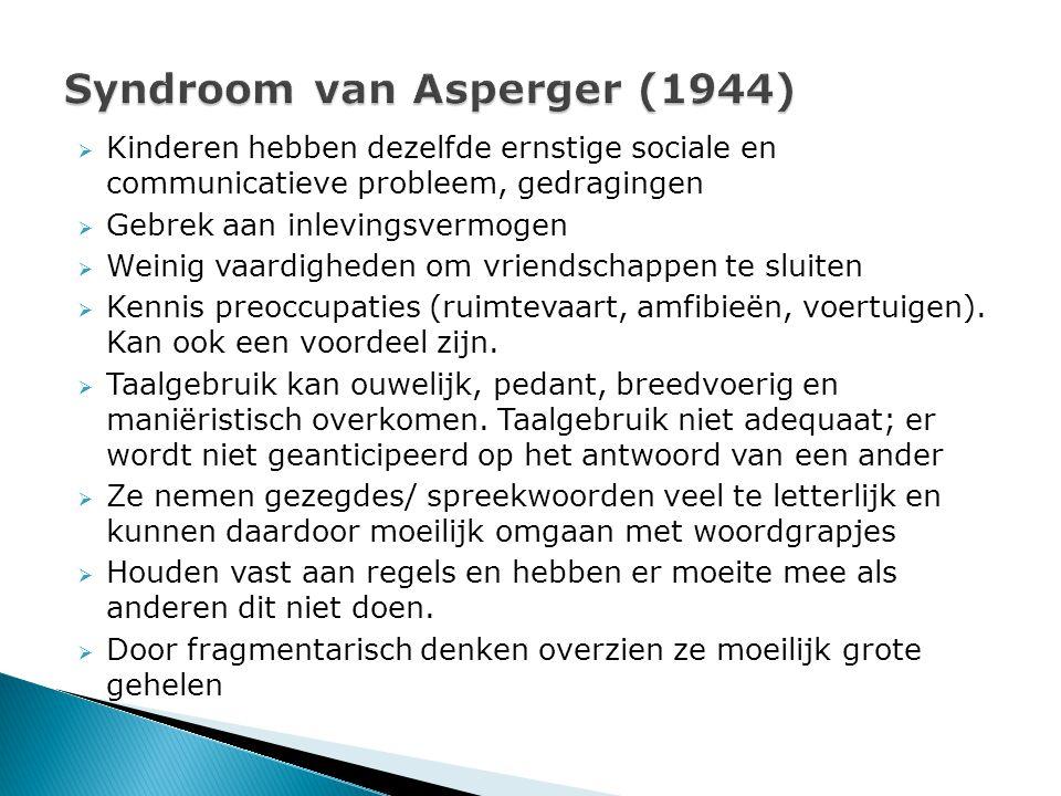 Syndroom van Asperger (1944)