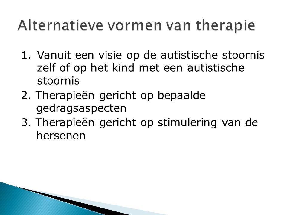 Alternatieve vormen van therapie