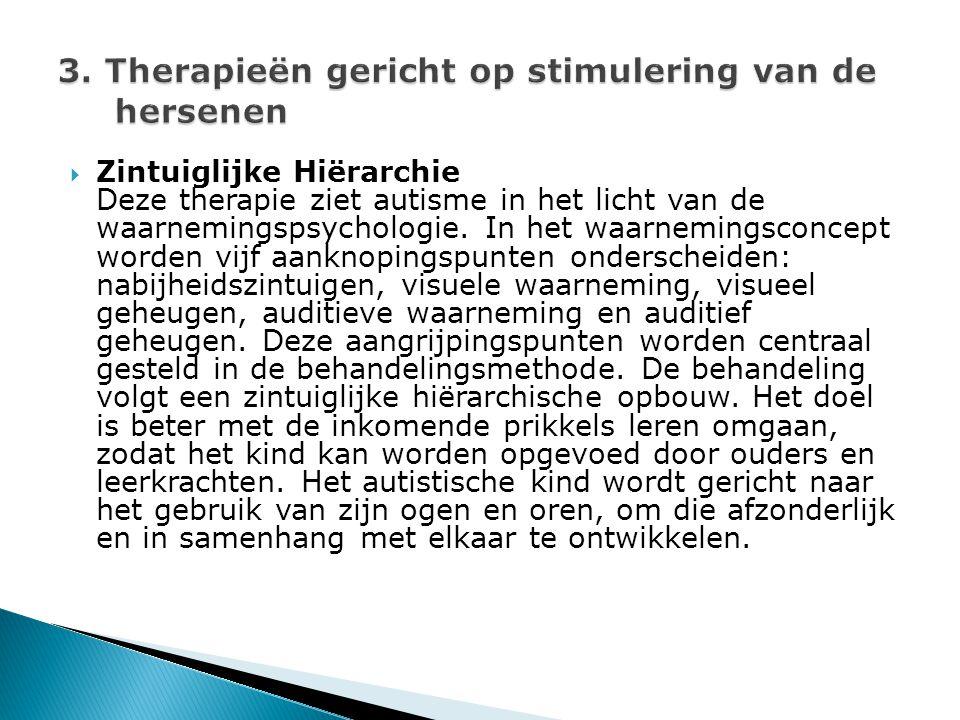 3. Therapieën gericht op stimulering van de hersenen