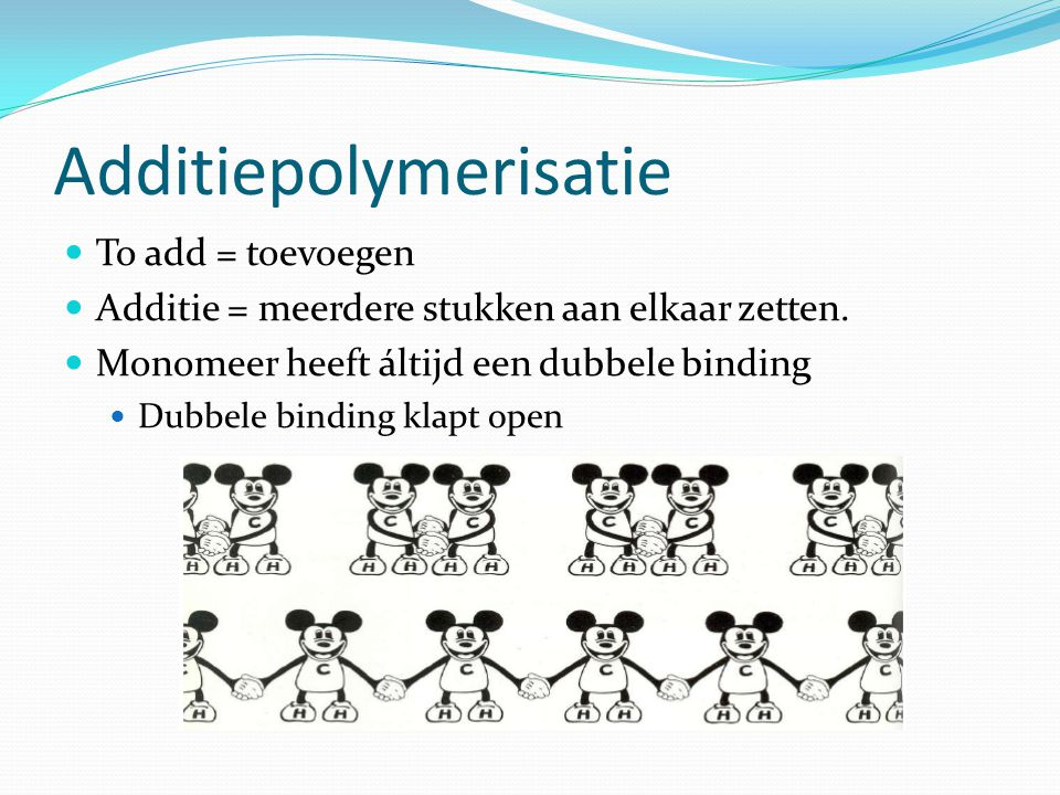 Additiepolymerisatie