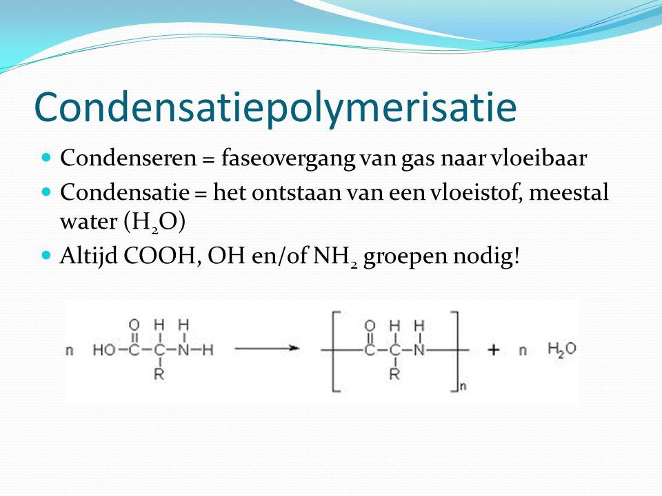 Condensatiepolymerisatie