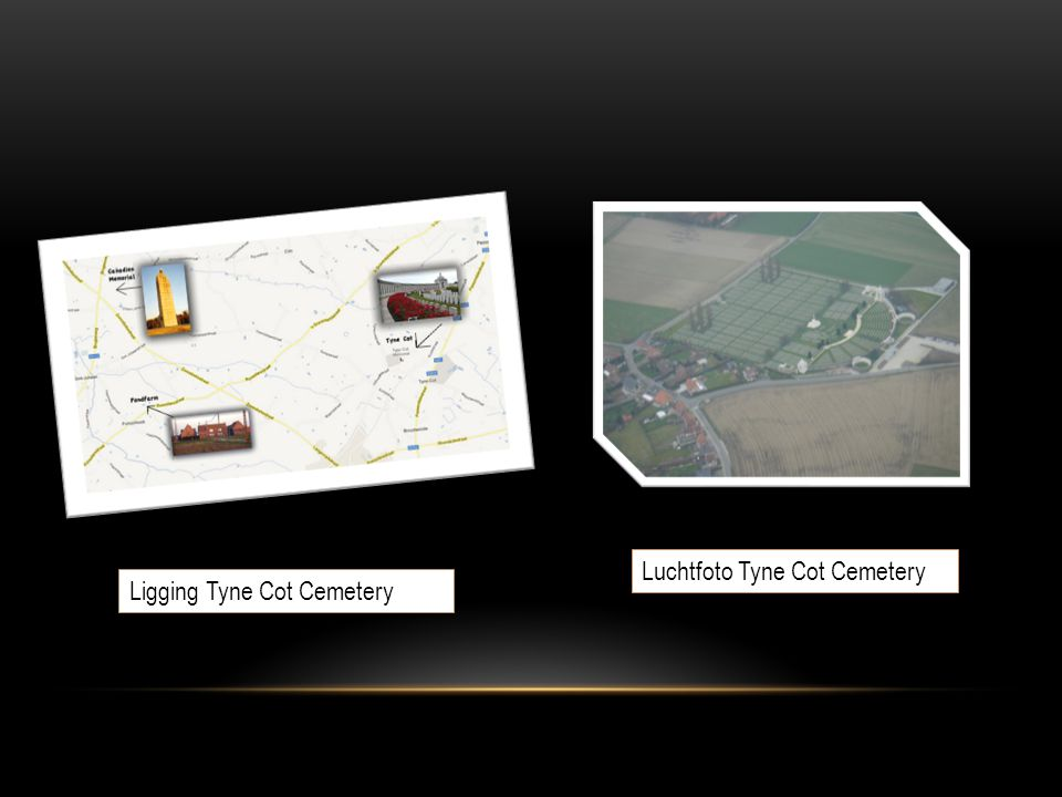 Luchtfoto Tyne Cot Cemetery