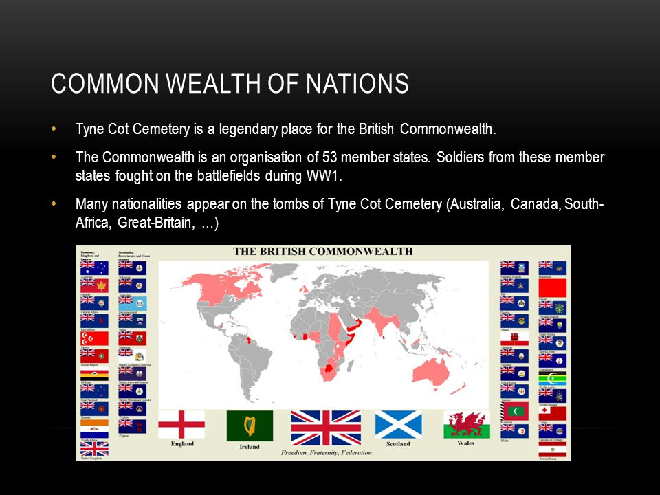 COMMON WEALTH of nations