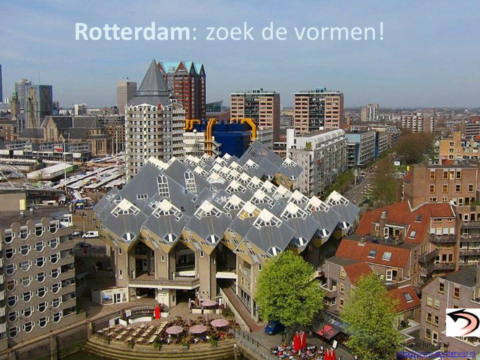 Rotterdam: zoek de vormen!