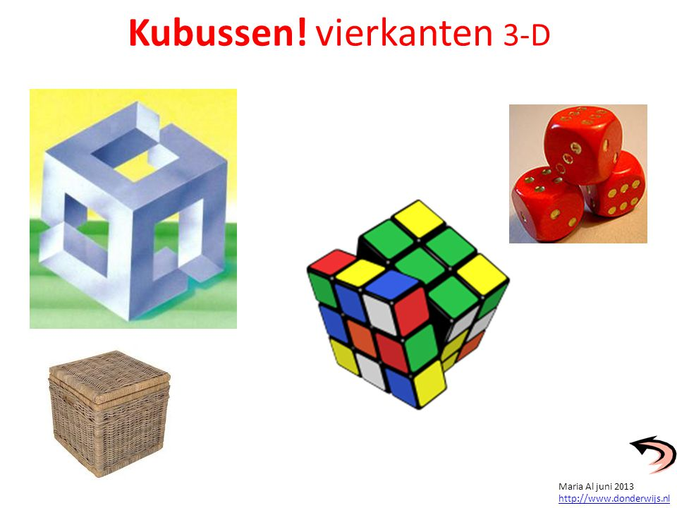 Kubussen! vierkanten 3-D
