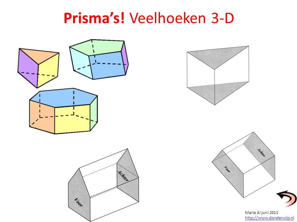 Prisma's! Veelhoeken 3-D