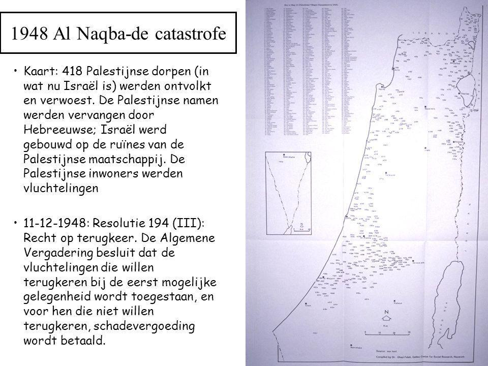 1948 Al Naqba-de catastrofe