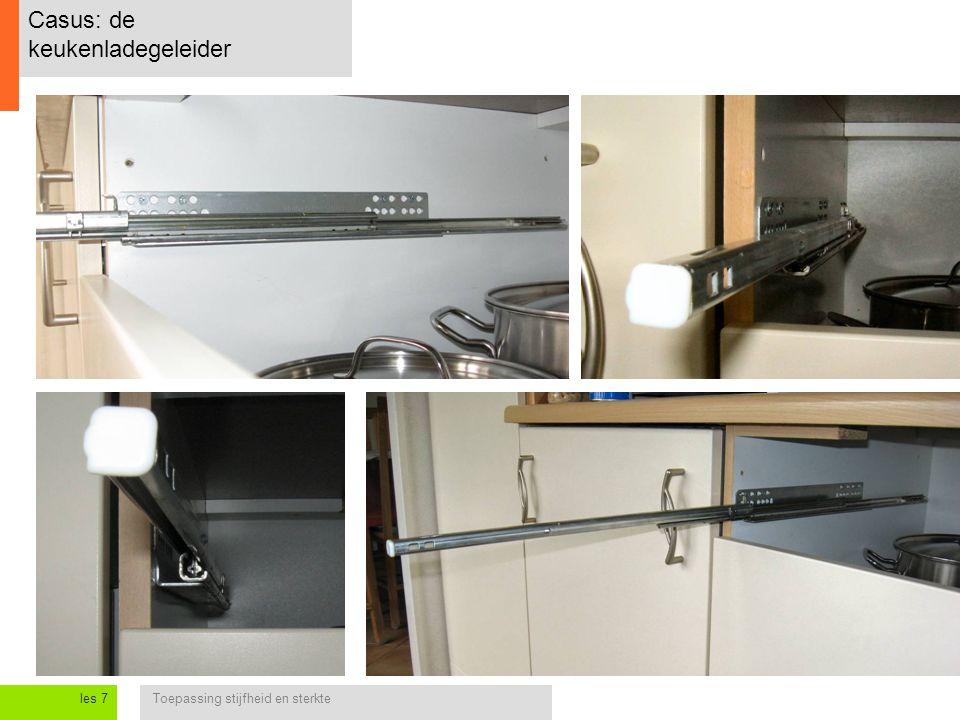 Casus: de keukenladegeleider