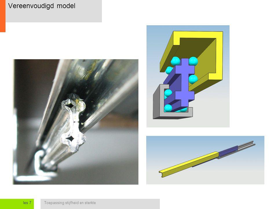 Vereenvoudigd model les 7