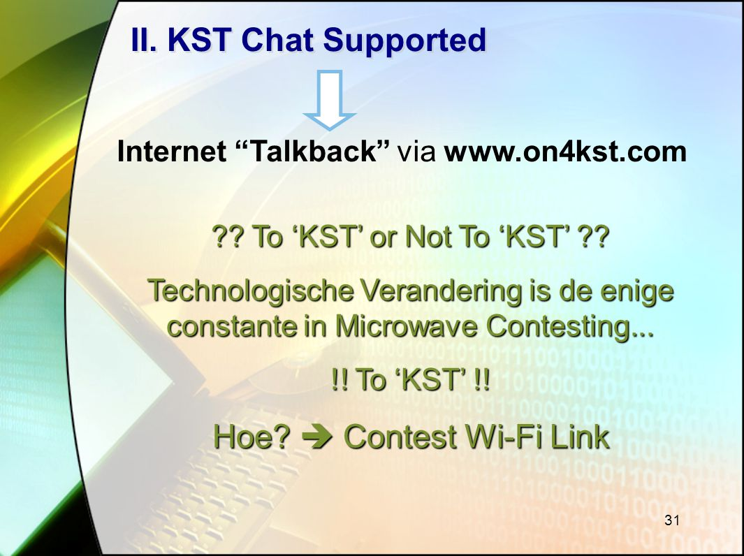 Hoe  Contest Wi-Fi Link