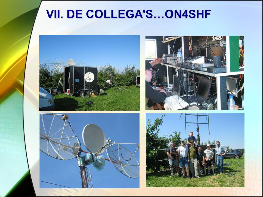 VII. DE COLLEGA S…ON4SHF