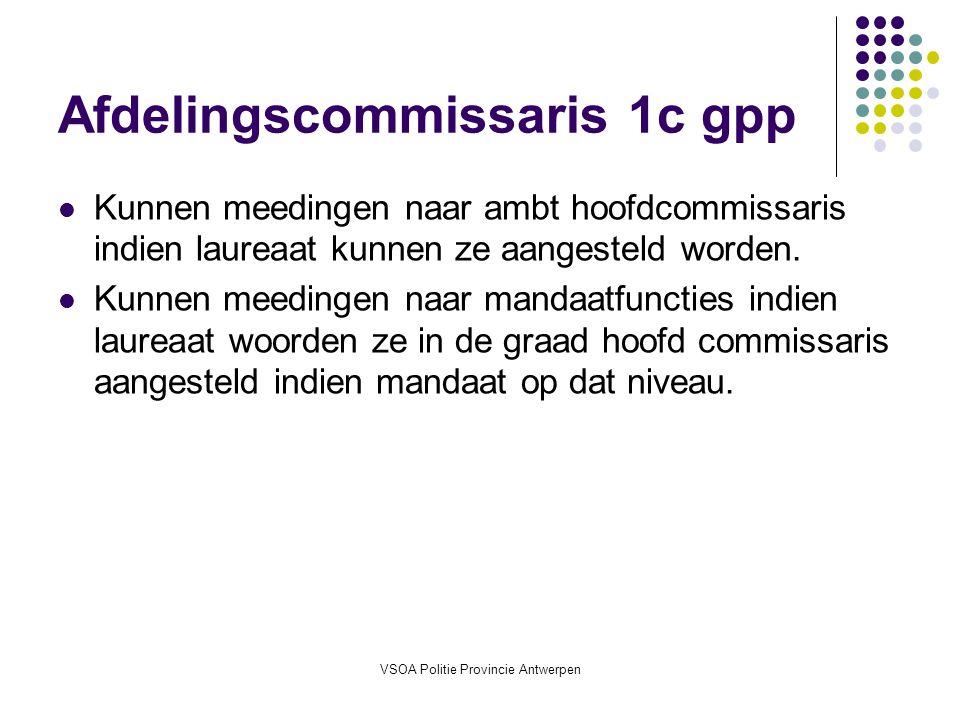 Afdelingscommissaris 1c gpp